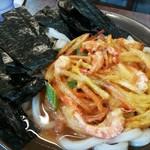 91170854 - 花巻野菜うどん580円