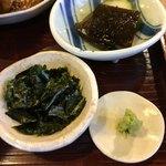 番屋 燁 - 海苔、山葵、香の物