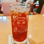 SNOOPY茶屋 由布院 - アイスティー 270円