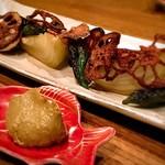 広尾小野木 - いろいろ焼き野菜スペシャル盛り