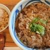 SANSHIKI - 料理写真:肉うどん・かやくごはんセット