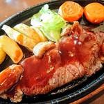 91176023 - ステーキソースは生姜風味