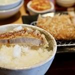 とんかつ葉月 - 松坂豚ロースかつとご飯