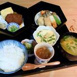 茶寮 三日月とうさぎ - 料理写真:月うさぎ弁当