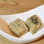 茶寮 三日月とうさぎ - わらび餅