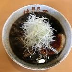 麺武 はちまき屋 - 醤油ラーメンいただきました。