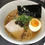 Japanese Soba Noodles 蔦 - 「お子様ラーメン(醤油)」600円(これに野菜ジュースが付きます。)