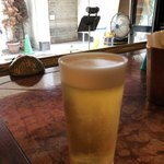 オッジ・ドマーニ - 生ビールはレーベンブロイ