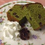 どんぐりんこのテラス - 抹茶のパウンドケーキ
