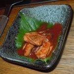 広島焼 とし - 牡蠣キムチ