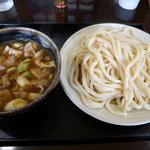 真打 - 肉汁うどん並(680円_2011-08-14