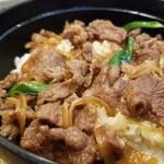 91190605 - 牛肉丼セット(700円)