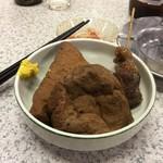 91191996 - 関東煮(厚あげ、がんも、スジ)