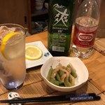 幸子のお茶漬 - 料理写真:お通し/山くらげ煮物