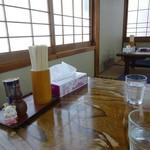 桂食堂 - 小上がり