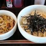 肉汁うどん こうち屋 - 料理写真:こうち屋 @東葛西 コク旨 肉汁つけうどん 税込680円