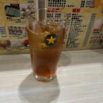もつ焼男体山 - ウーロン茶300円