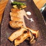 鉄板焼き しん - 野菜焼き