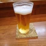 Kakouokamoto - 珍しくビール