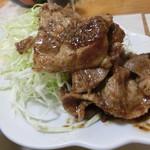 中華料理叙香園 - 料理写真:生姜焼き定食