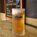 立ち呑み処 寄り屋 - アサヒ生ビール