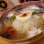 91195908 - 韓式冷麺(820円)えす。