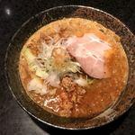 麺処 蓮海 - まぐろ豚骨ピリ辛味噌ラーメン@850円