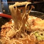 麺処 蓮海 - 麺はこんな感じ