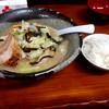 麺z 来瑠里 - 料理写真:【2018.8.19(日)】来瑠里らーめん(創作野菜らーめん)800円+無料TKG