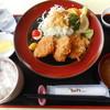 レストラン 青銅館 - 料理写真:桃豚ヒレカツ定食¥950-
