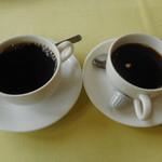 レストラン 青銅館 - コーヒー大盛り
