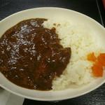 バスコロ - 牛すじカレー500円