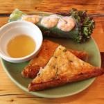 モンスーンカフェ  - 「Holiday Lunch Set」(1620円)の前菜