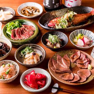 食材の良さを引き出した様々な料理