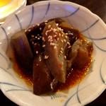 小松食堂 - 料理写真:お通し(茄子煮物)