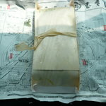 むすび むさし - 包み紙の裏側は広島マップ