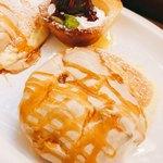 むさしの森珈琲 - アップ♪☀︎ タルトの上には、チョコレートアイス