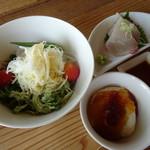 restaurant bio - 本日の御昼御飯(1,620円)