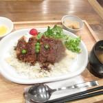 91202685 - ランチ根室名物エスカロップ定食 780円【2018年8月】