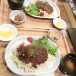 91202702 - 2人のランチ根室名物エスカロップ定食 780円【2018年8月】