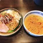 伊武記 - 料理写真:冷やし坦々つけ麺