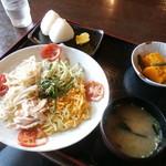 道の駅 彼杵の荘 - 料理写真:冷やし中華定食