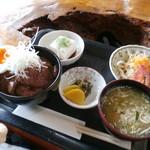 レストラン 北山 - 倍喰丼 小 \1850