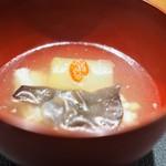 傳 - 冬瓜 きくらげなどが入った滋味深いスープ