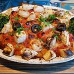 ピザキング - シーフードグラタン トマトソースで