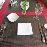 ル ポトローズ - ランチ:テーブルセッティング