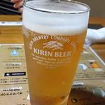 山里 - グラスビール