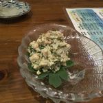 島料理 海響 - 長命草の白和え