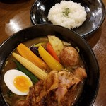 91214810 - チキンと野菜たっぷり(辛さ4) 1350円