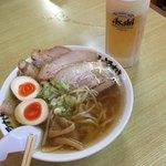 麺屋 ようすけ - チャーシューメン&生ビール